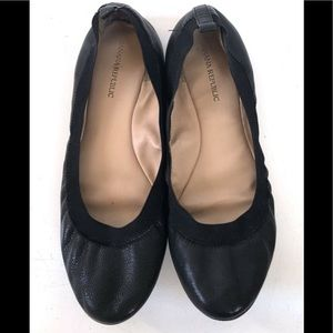 BANANA REPUBLIC Abby Ballet Flats 8.5 M Black